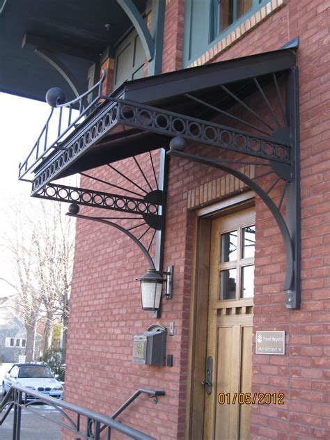 wrought iron awnings metal awnings obrien ornamental iron