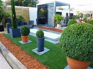 belle idee amenagement exterieur l39idee d39un tapis de bain With idee amenagement jardin paysager 1 haie de bambous une idee de plus en plus seduisante