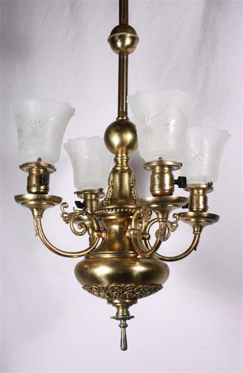 brass chandeliers for sale splendid antique four light brass chandelier
