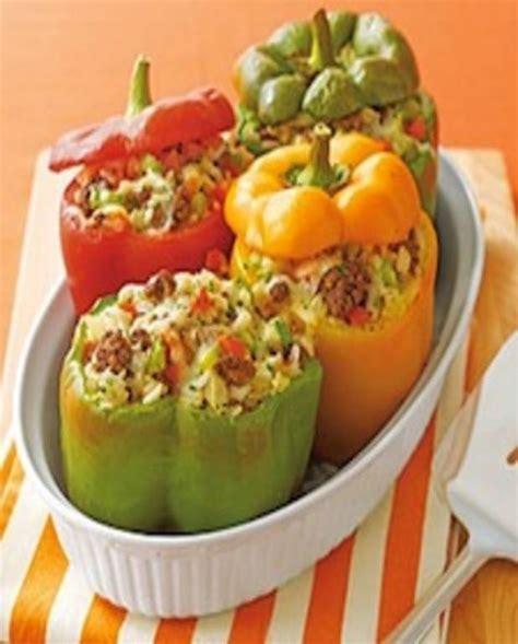 recettes de cuisine fr3 délicieux poivrons farcis au boeuf pour 4 personnes