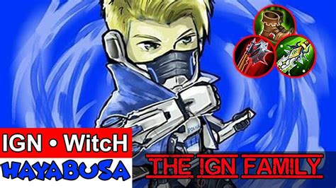 The Ign Family (by Ign • Witch) Mobile Legends Hayabusa