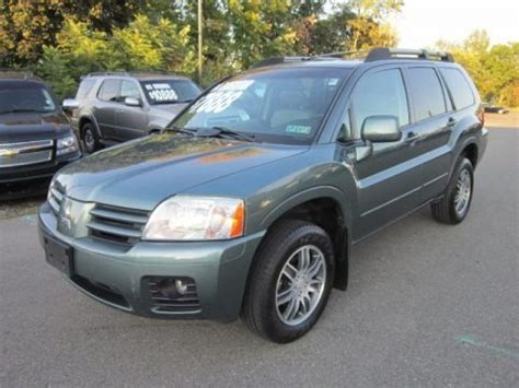 2004 Mitsubishi Endeavor Limited by 2004 Mitsubishi Endeavor Limited Awd Data Info And Specs