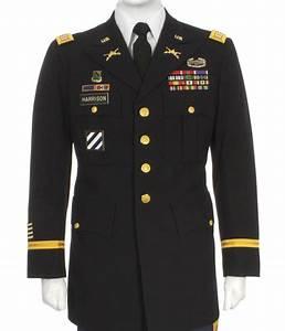 Army Class A Uniform Diagram