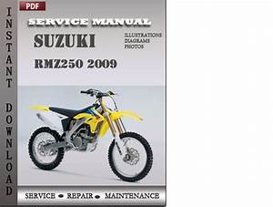 Suzuki Rmz250 2009 Factory Service Repair Manual Download