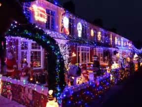 let it glow extravagant christmas light displays on uk homes in pictures telegraph