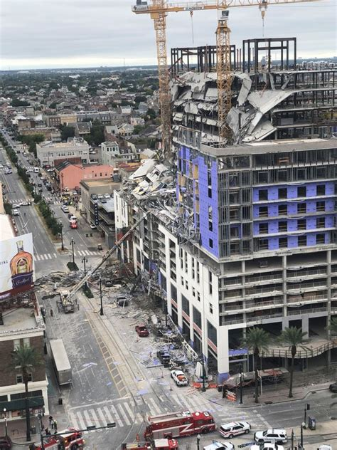orleans hard rock hotel collapse daring rescue