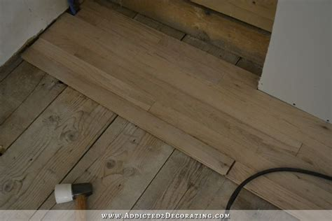 how to install row of hardwood flooring kitchen hardwood floors are in eight installation tips from a novice