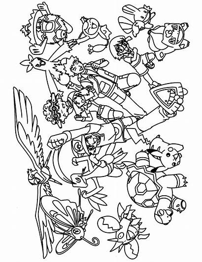 Pokemon Coloring Pages Advanced Sheets Printable Colouring