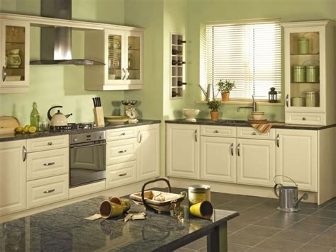 Green Kitchens : Beautiful Kitchens With Green Walls