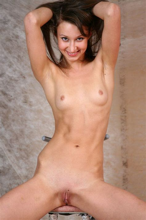 Naked Mini Tits Skinny Teen With Bald Pussy From Skinnygirlnude Com