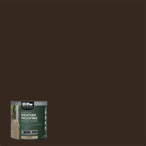 behr premium  oz sc padre brown solid color