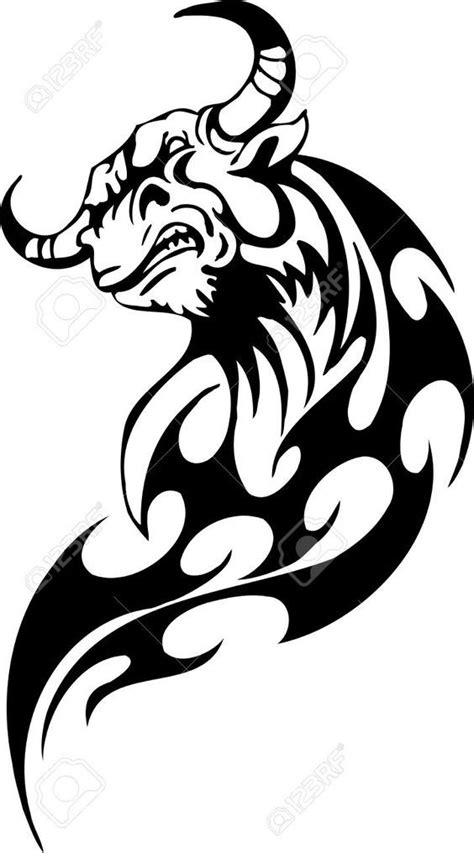 fire bull tattoo - Google Search | wish | Bull tattoos, Taurus tattoos, Tattoos