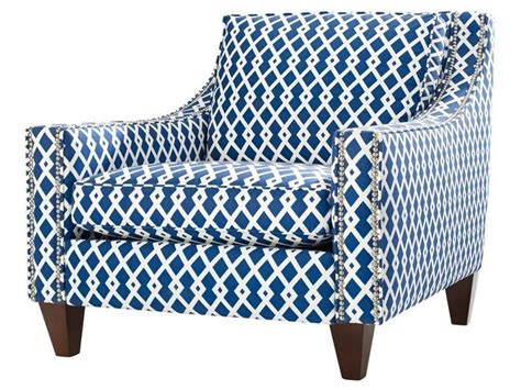blue and white accent chair blue and white stripe accent