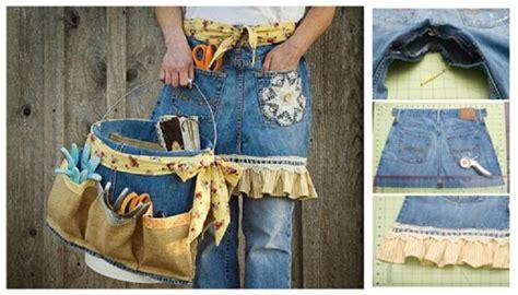 diy  jeans  garden apron  tool caddy usefuldiycom