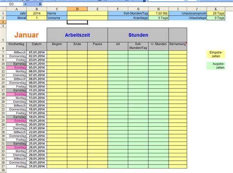 hilfe bei fast fertiger excel tabelle zeiterfassung