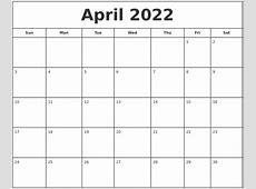 May 2022 Make A Calendar