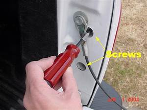Howto - 1999 F150 Flareside Taillight Removal