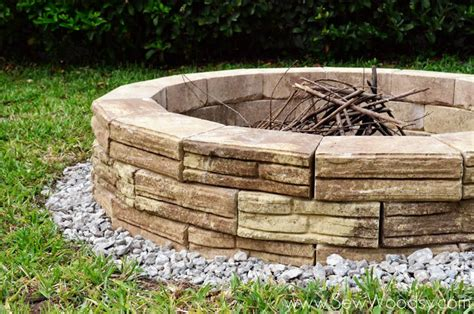 how to build an outdoor pit hometalk how to build an outdoor pit