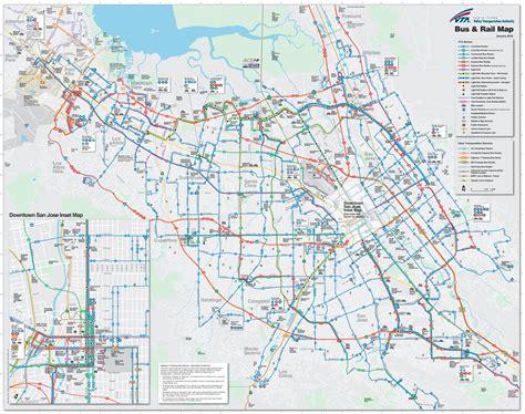 sjsu cus map downtown san jose station san jose subway