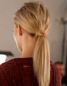 Coiffure Queue De Cheval : coiffure simple les plus belles coiffures simples elle ~ Melissatoandfro.com Idées de Décoration