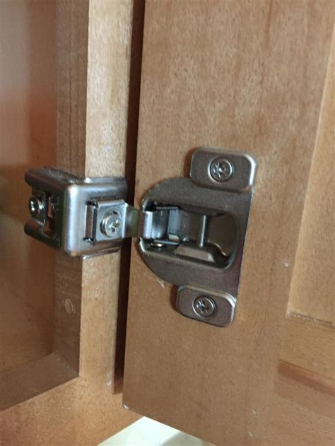 kitchen cabinet hinge holes universal  replacement