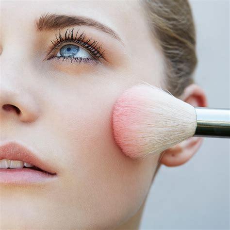 makeup  blush products   pretty natural flush shape magazine