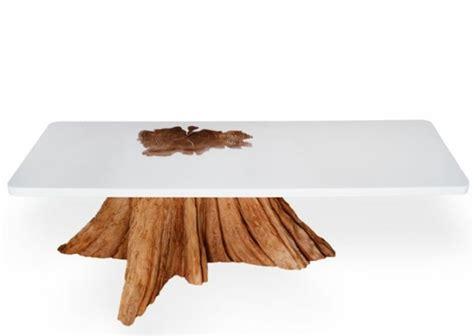 siege sur poutre meubles variés en troncs d 39 arbre sciés