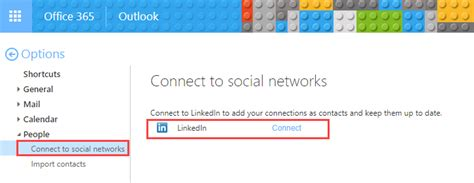 Office 365 Outlook Contacts by Sync Linkedin Contacts With Outlook Desktop
