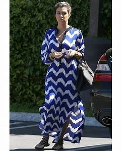 Spotted On Celeb | VALERIA CHEVRON PRINT MAXI DRESS ...
