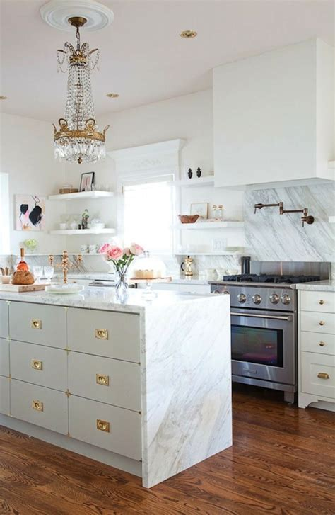 White Kitchen Gold Eye by How To Use Brass And Gold Accents In Your Kitchen The