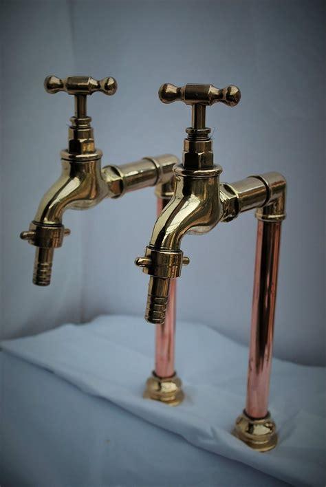 Brass Sink Taps Bathroom by Brass Copper Belfast Kitchen Sink Bib Taps