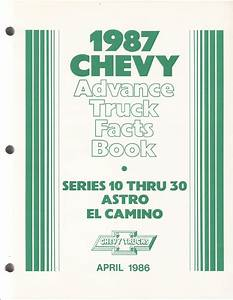 1987 R  V Pickup  Suburban  K5 Blazer  Jimmy Wiring Diagram