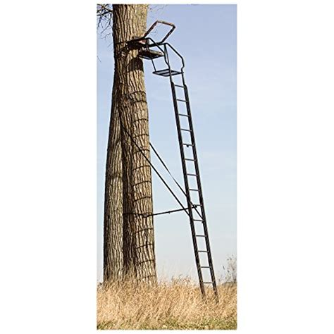 new big game skybox deluxe treestand deer hunting stand 20 feet free shipping ebay