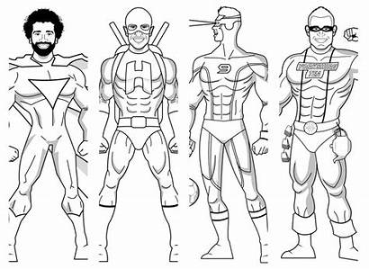 Liverpool Colouring Fc Superheroes Anfield