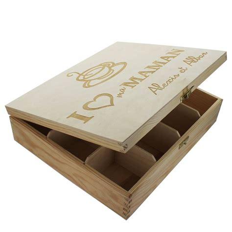 livre de cuisine en ligne boîte à thé 12 compartiments personnalisée une idée de cadeau original amikado
