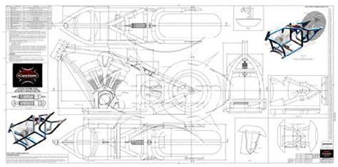 Advice Motorcycle Frame Blueprints Motor Castom