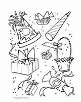 Coloring Birthday Sheets Presents Decorations Printable Printables Mouse Activity Favors Holiday Gifts Minnie Present Boy Toys Popular Coloringhome Supplies Mickey sketch template