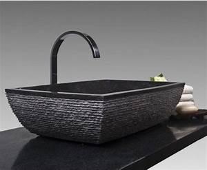 Designer Waschbecken Mit Unterschrank : schwarzes waschbecken f r das badezimmer ~ Sanjose-hotels-ca.com Haus und Dekorationen