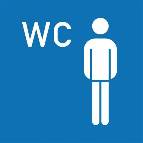 dans les toilettes des femmes panneau toilettes hommes signalisation de plaques toilettes sin026