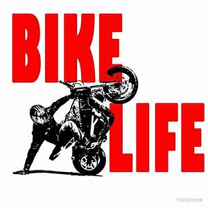 """Bike Life "" Posters by fatbanana Redbubble"