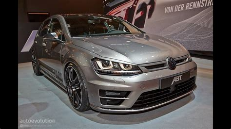 vw golf 7 tuning vw golf 7 r tuning by abt sportsline 2014 essen motor show live photos