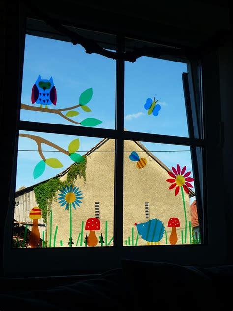 Basteln Sommer Fenster by Pin Kaja Klees Hinken Auf Weihnachtsbasteln