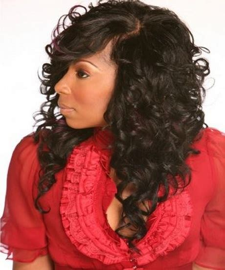Pictures Of And Wavy Sew In Hairstyles by Curly Sew In Hairstyles