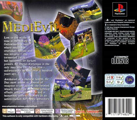 medievil box shot  playstation gamefaqs