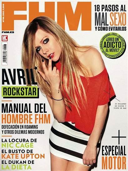 Avril Fhm Lavigne Magazine Maxim Covers Spain