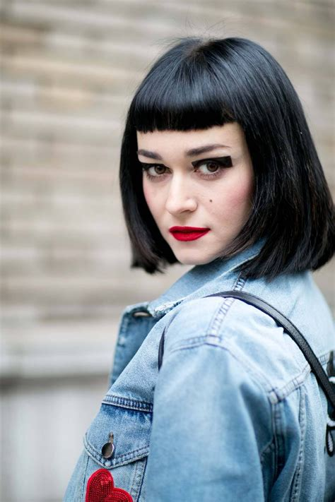 The ultimate guide to rocking a short fringe: Find your