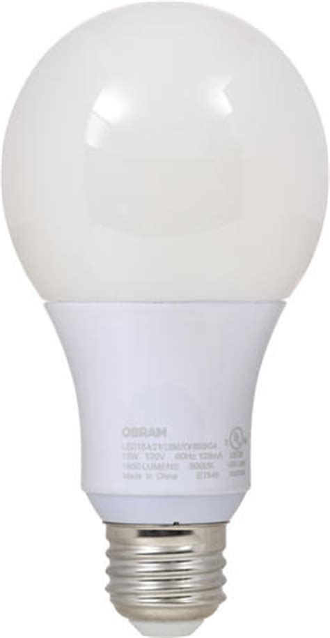 sylvania 100 watt a21 5000k led light bulb at menards 174