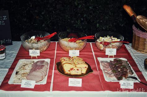Mon Buffet Anniversaire (thème Guinguette)  Le Blog