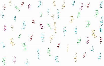 Confetti Transparent Clip Birthday Clipart Happy Colorful