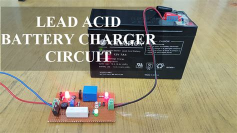 lead acid battery charger circuit diagram   working